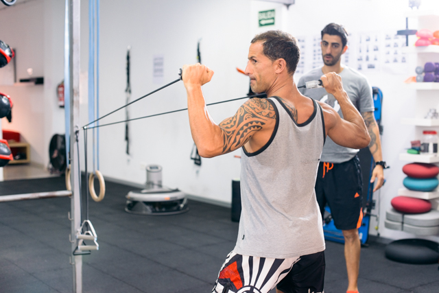 Alejandro entrenando en Workout Tenerife © Edu López